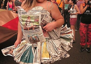 Is there a better use for a newspaper?