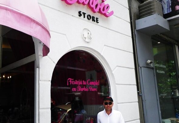 The Barbie Store in Buenos Aires
