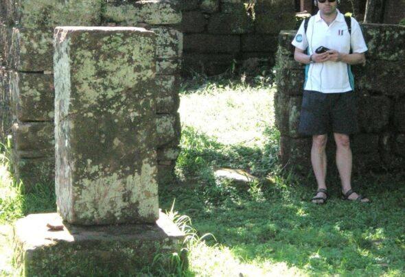 Coke and a walkman amongst the ruins