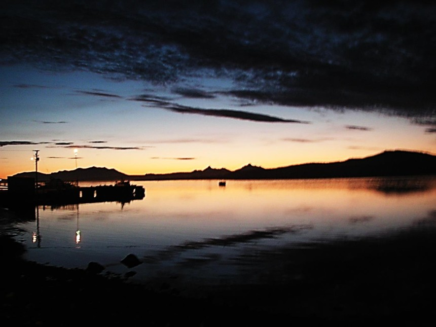 chile puerto natales sunset 2