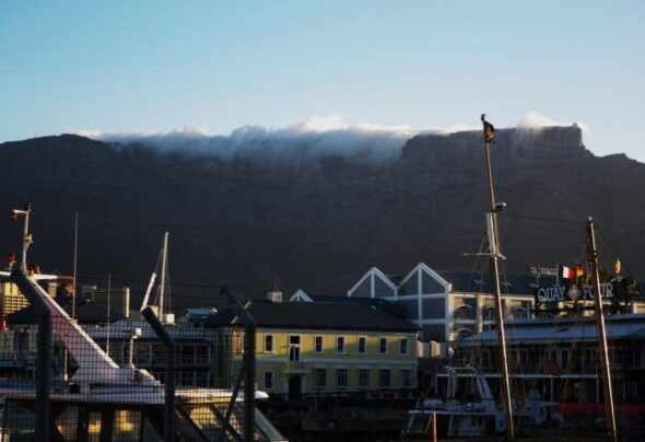 My inspiring view of Table Mountain