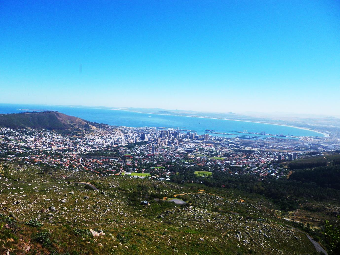 south africa view from table mountain 1