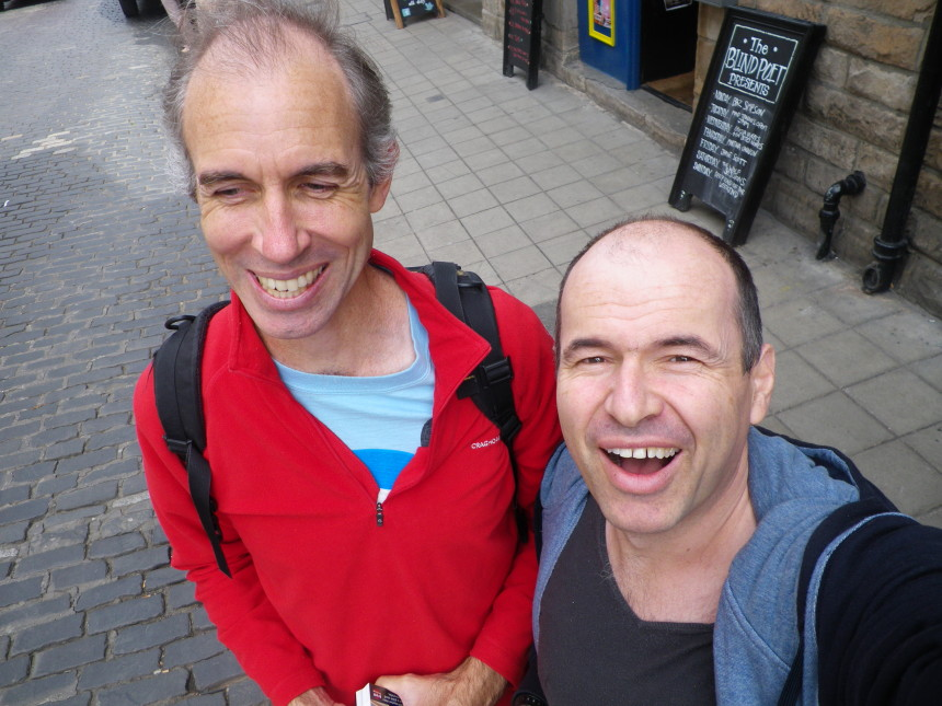 scotland edinburgh allan girod and me