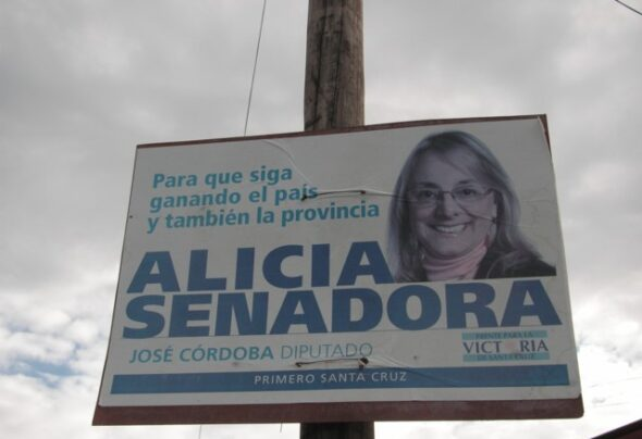 Nestor, Cristina, Alicia and the constitutional guarantee