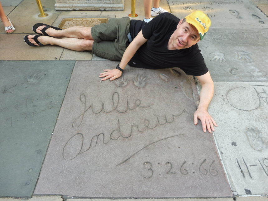 USA Julie Andrews Grauman's and me 1