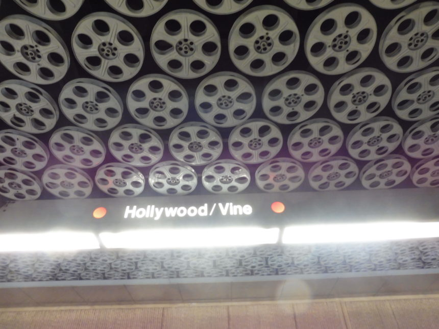 USA Hollywood/Vine signs and reels
