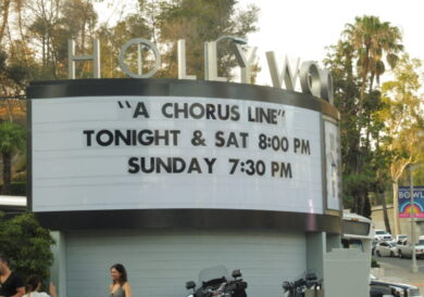 Is 'A Chorus Line' still relevant in our cynical age?