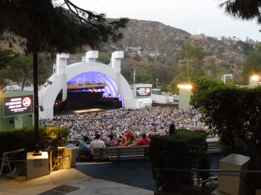 USA Hollywood Bowl from the back