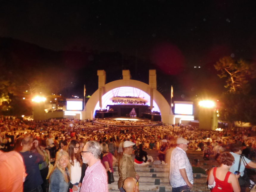 USA Hollywood Bowl at the back