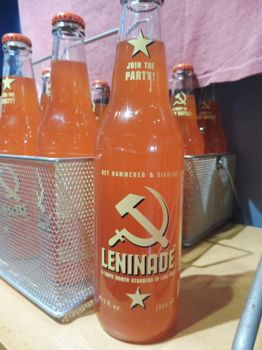 USA DC Spy Leninade bottles