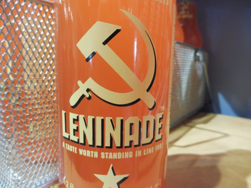 USA DC Spy Leninade bottle line