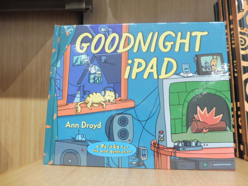 USA DC National Portrait Gallery gift shop - Goodnight iPad
