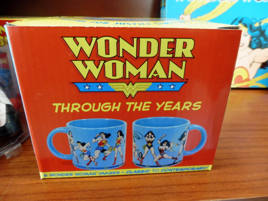 USA DC Library of Congress gift shop - Wonder Woman 2