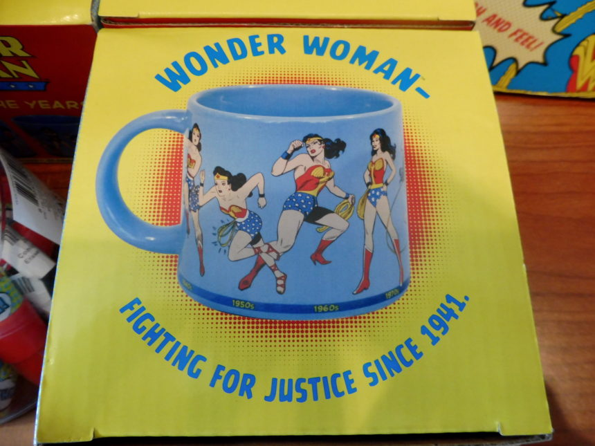 USA DC Library of Congress gift shop - Wonder Woman 3