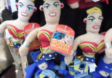 Wonder Woman's surprise appearance at the US Library of Congress