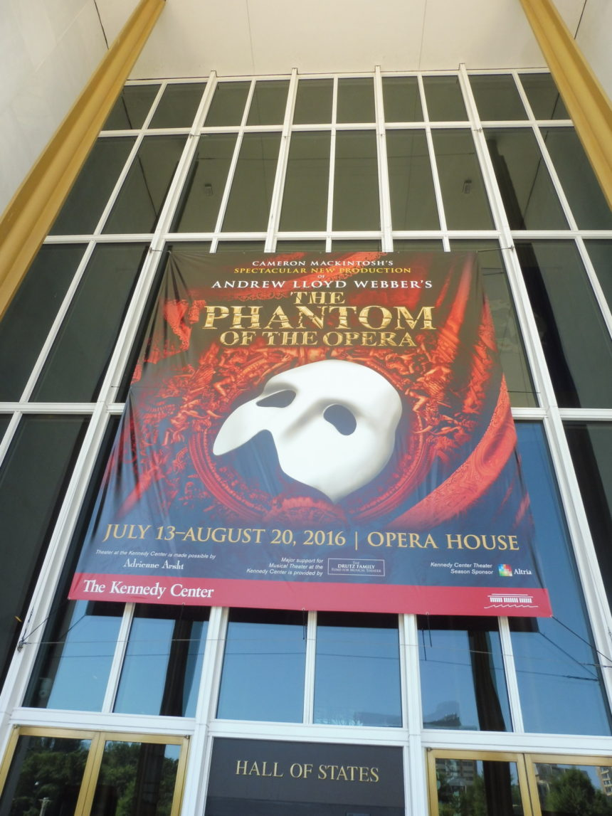 USA DC Kennedy Center - The Phantom of the Opera