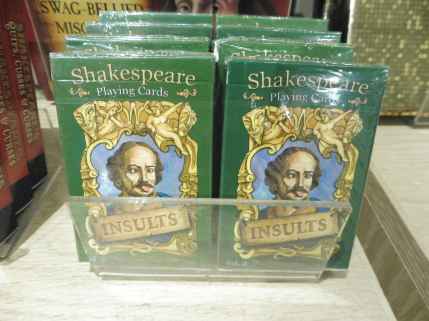 USA DC Kennedy Center gift shops - Shakespeare 19