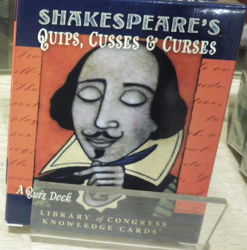 USA DC Kennedy Center gift shops - Shakespeare 9