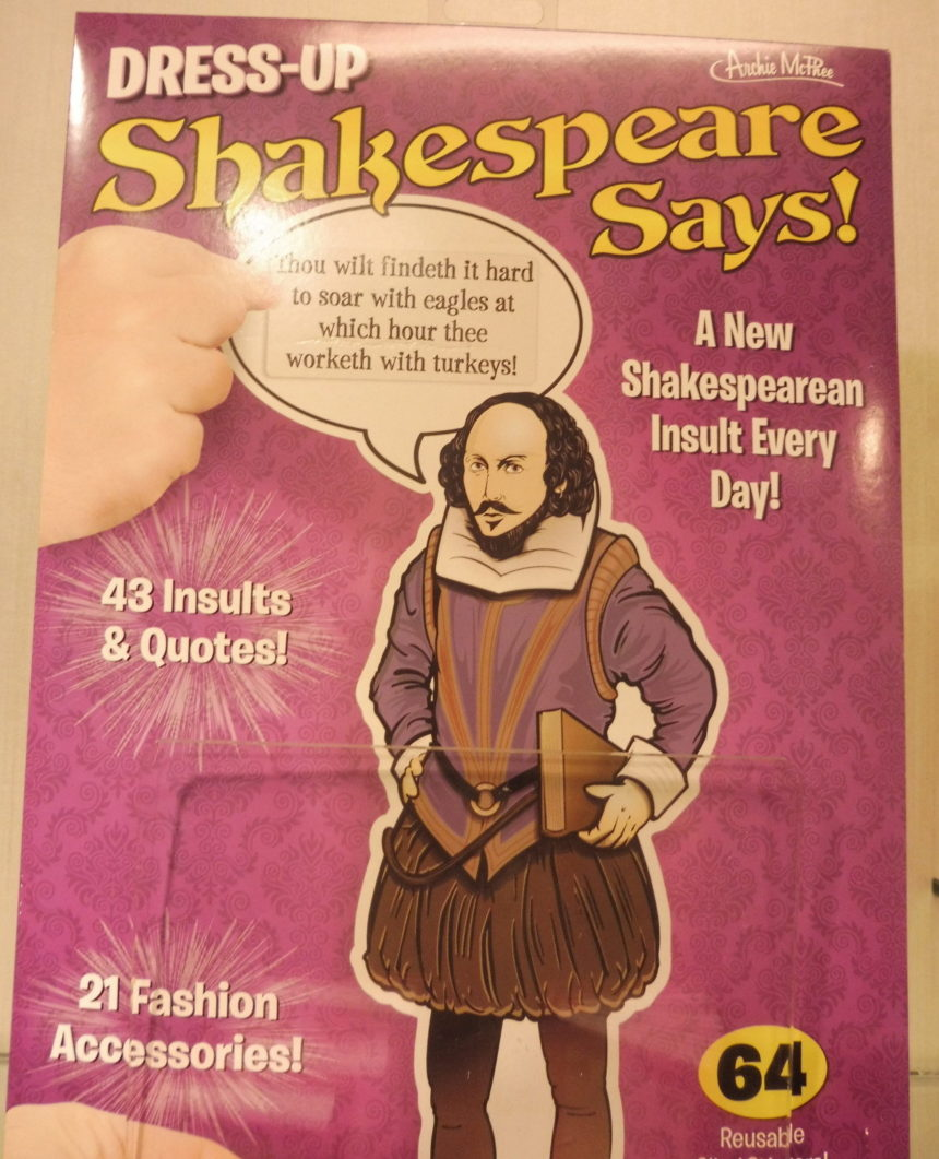 USA DC Kennedy Center gift shops - Shakespeare 12