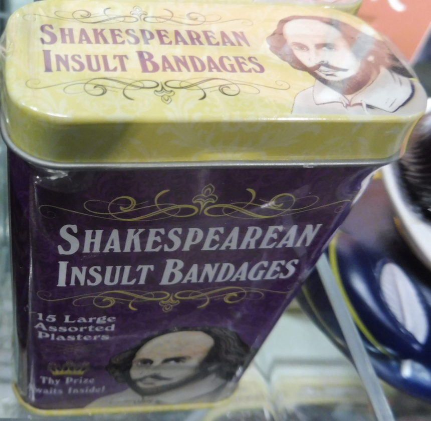 USA DC Kennedy Center gift shops - Shakespeare 16