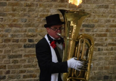 The great tuba fire of London