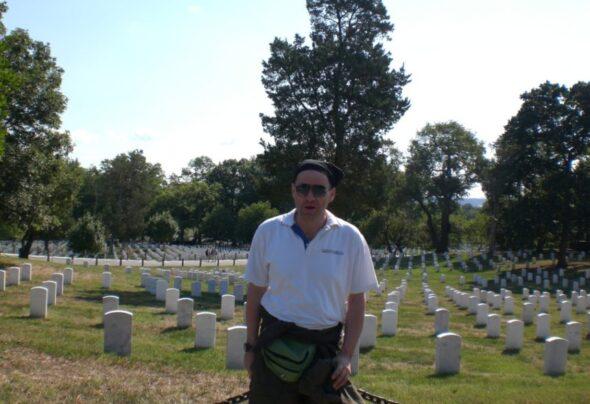 Arlington … the Washington DC Cemetery that's actually in Virginia