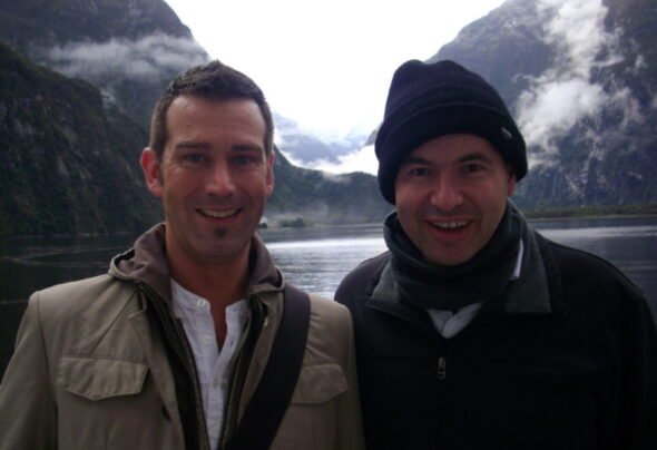 I'm on a celebrity… Get me out of Milford Sound!