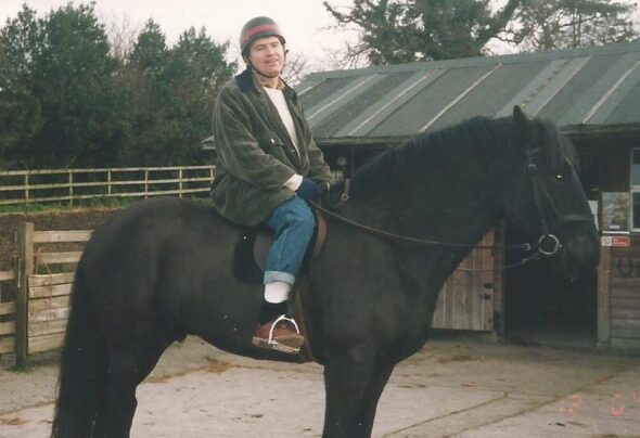The only time I ever went horse riding