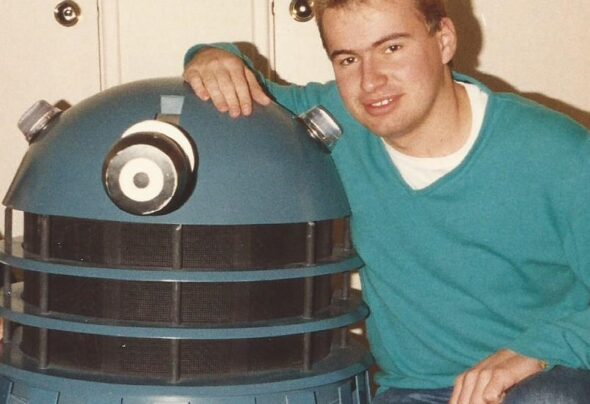 A defence of my bleached hair… With a Dalek!