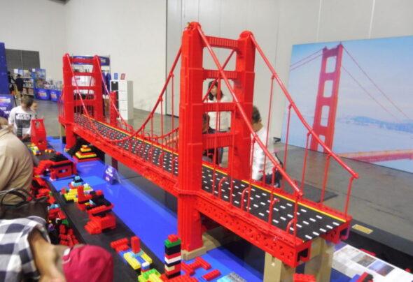 Will I see a Lego Golden Gate Bridge before I see the real thing again?