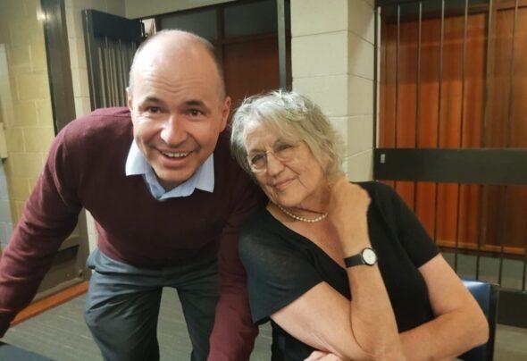 I met Germaine Greer last night
