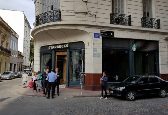 San Telmo Starbucks