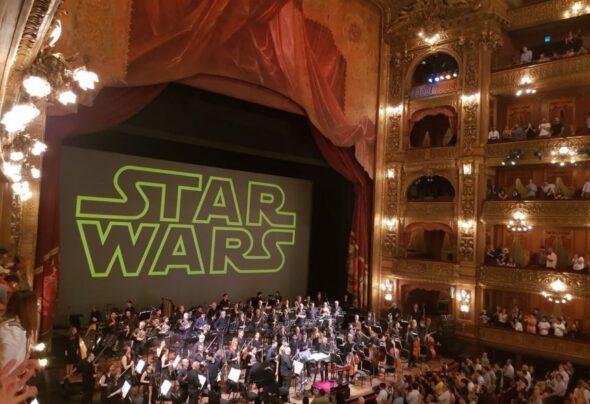 Star Wars at the Teatro Colon