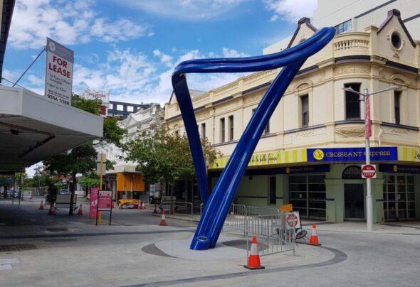 The blue loop